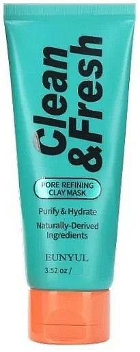 Gesichtsmaske zur Porenverfeinerung mit Tonerde und grünem Tee - Eunyul Clean & Fresh Pore Refining Clay Mask — Bild N1