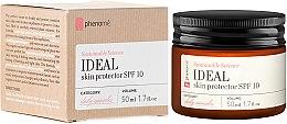 Düfte, Parfümerie und Kosmetik Schützende und festigende Gesichtscreme für empfindliche und Kapillarhaut - Phenome Ideal Skin Protector Spf 10