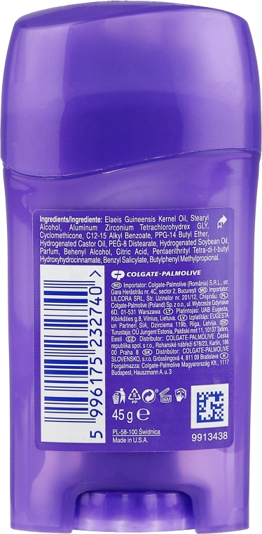 Deostick Antitranspirant - Lady Speed Stick Fresh Infused Protection Deodorant — Bild N2