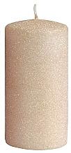 Düfte, Parfümerie und Kosmetik Dekorative Kerze rosa-gold 7x18 cm - Artman Glamour