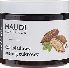"""Düfte, Parfümerie und Kosmetik Zucker- Körperpeeling """"Schokolade mit Aktivkohle"""" - Maudi"""
