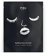 Gesichtspflegeset - Pibu Beauty Bubbling Charcoal Mask Set (Gesichtsmasken 5x27g) — Bild N2