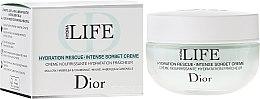 Düfte, Parfümerie und Kosmetik Intensiv feuchtigkeitsspendende Sorbet-Creme für Gesicht - Dior Hydra Life Hydration Rescue Intense Sorbet Creme