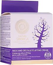 Düfte, Parfümerie und Kosmetik Anti-Aging Hals- und Dekolletécreme mit Lifting-Effekt - Natura Siberica