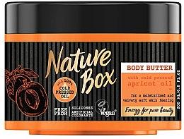Düfte, Parfümerie und Kosmetik Körperbutter mit kaltgepresstem Aprikosenöl - Nature Box Apricot Oil Body Butter