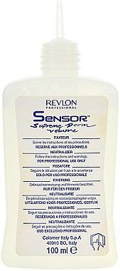 Dauerwellen-Set für kräftiges Haar - Revlon Professional Sensor Perm (lot/20ml + lot/72ml + neutr/100ml) — Bild N2