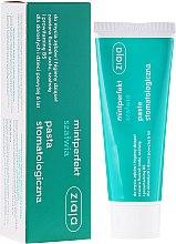 Düfte, Parfümerie und Kosmetik Zahnpasta mit natürlichem Salbeiextrakt und Fluorid - Ziaja Mintperfect