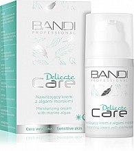 Düfte, Parfümerie und Kosmetik Feuchtigkeitsspendende Gesichtscreme mit Meeresalgen - Bandi Professional Delicate Care Moisturizing Cream