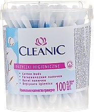 Wattestäbchen 100 St. - Cleanic Face Care Cotton Buds — Bild N1