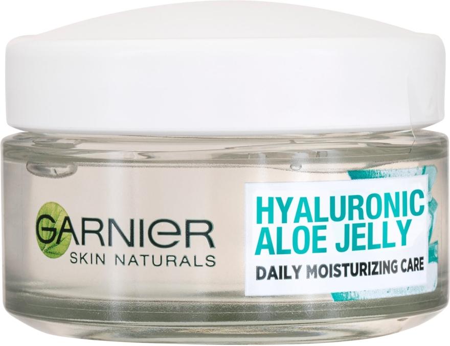 Feuchtigkeitsspendendes Gesichtscreme-Gel mit Hyaluronsäure und Aloe - Garnier Skin Naturals Hyaluronic Aloe Jelly Cream — Bild N1