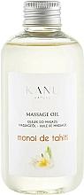 Düfte, Parfümerie und Kosmetik Massageöl Monoy de Tahiti - Kanu Nature Monoi de Tahiti Massage Oil