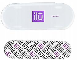 Düfte, Parfümerie und Kosmetik Nagelfeile mit Etui - Ilu Nail File With Case Mini 240/240