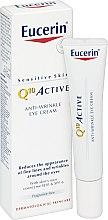 Düfte, Parfümerie und Kosmetik Anti-Aging Augencreme - Eucerin Q10 Active Anti-Wrinkle Eye Cream SPF 6