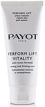 Düfte, Parfümerie und Kosmetik Intensiv glättende Gesichtscreme mit Lifting-Effekt - Payot Perform Lift Vitality Salon Size