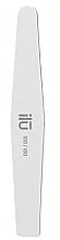 Düfte, Parfümerie und Kosmetik Doppelseitige Nagelfeile 100/180 Trapez - Ilu White Diamond File Grid 100/180