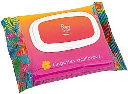 Düfte, Parfümerie und Kosmetik Gesichts- und Körpertücher mit Schimmer - Peggy Sage Glitter Wipes