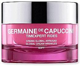Düfte, Parfümerie und Kosmetik Sanfte Anti-Falten Gesichtscreme - Germaine de Capuccini TimExpert Rides Soft Global Cream Wrinkles