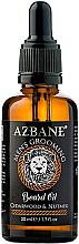 Düfte, Parfümerie und Kosmetik Pflegendes Bartöl mit Zedernholz und Muskatnuss - Azbane Bean Oil With Cedarwood And Nutmeg Oil