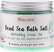 Badesalz aus dem Toten Meer mit Traubenkernöl und grüner Tee Aroma - Nacomi Dead Sea Bath Salt — Bild N1
