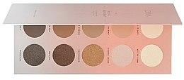 Düfte, Parfümerie und Kosmetik Lidschattenpalette - Zoeva Basic Moment Eyeshadow Palette