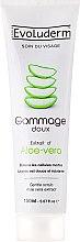 Düfte, Parfümerie und Kosmetik Gesichtspeeling mit Aloe Vera-Extrakt - Evoluderm Soin du Visage Gentle Scrub Aloe Vera Extract