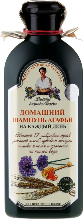 Shampoo für den täglichen Gebrauch - Rezepte der Oma Agafja