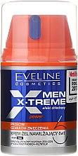 Düfte, Parfümerie und Kosmetik Gesichtscreme-Gel - Eveline Cosmetics Men X-Treme Power Cream-Gel 6In1