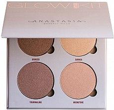 Düfte, Parfümerie und Kosmetik Highlighter Quartett - Anastasia Beverly Hills Glow Kit
