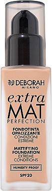 Mattierende Foundation LSF 20 - Deborah Extra Mat Perfection SPF20 — Bild N1