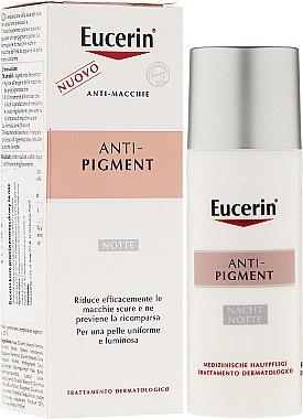 Nachtcreme gegen Pigmentflecken - Eucerin Eucerin ANti-Pigment Night Cream — Bild N1