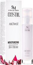 Düfte, Parfümerie und Kosmetik Feuchtigkeitsspendende Tagescreme Amethyst - Hristina Cosmetics SM Crystal Amethyst Moisturizing Day Cream