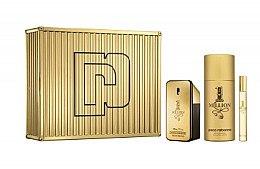 Düfte, Parfümerie und Kosmetik Paco Rabanne 1 Million - Duftset (Eau de Parfum/50ml + Deodorant/150ml+Eau de Toilette/10ml)