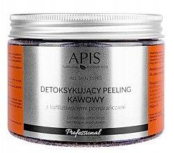 Düfte, Parfümerie und Kosmetik Kaffeekörperpeeling mit Orange - Apis Professional Detoxifying Coffee Scrub Orange