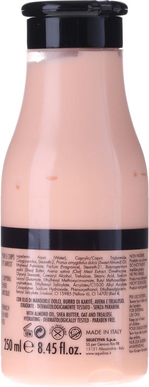 Schützende und feuchtigkeitsspendende Körperlotion - Aquolina Body Milk Peach and Apricot — Bild N2