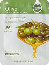 Düfte, Parfümerie und Kosmetik Tief feuchtigkeitsspendende Tuchmaske mit Olivenextrakt - Rorec Natural Skin Olive Mask