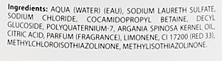 Erweichendes Shampoo mit Arganöl - Dikson S83 Restructuring Shampoo — Bild N3