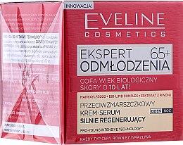 Düfte, Parfümerie und Kosmetik Intensiv Regenerierendes Anti-Falten Creme-Serum für das Gesicht 65+ - Eveline Cosmetics Expert Cream-Serum 65+