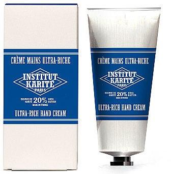 Reichhaltige Handcreme mit Sheabutter - Institut Karite Milk Cream Shea Hand Cream — Bild N1