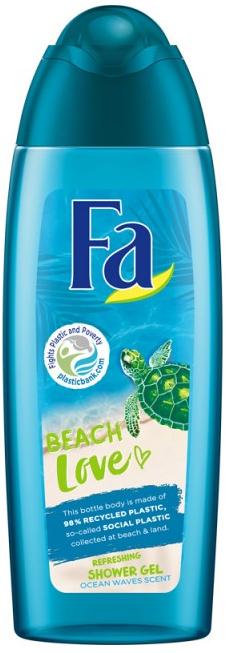 Erfrischendes Duschgel mit Meereswellen-Duft Beach Love - Fa Beach Love Shower Gel — Bild N1