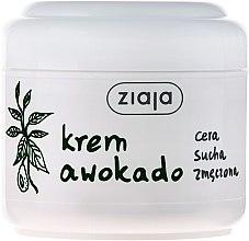 Düfte, Parfümerie und Kosmetik Gesichtscreme für trockene Haut mit Avocadoöl - Ziaja Cream For Dry Skin