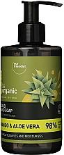 Düfte, Parfümerie und Kosmetik Flüssige Handseife mit Mango und Aloe - Be Organic Liquid Hand Soap Mango & Aloes