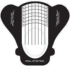 Düfte, Parfümerie und Kosmetik Schablonen zur Nagelverlängerung - Pierre Rene Professional Nail System
