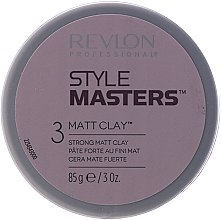 Düfte, Parfümerie und Kosmetik Mattierende Tonerde für das Haar Starker Halt - Revlon Professional Style Masters Creator Matt Clay