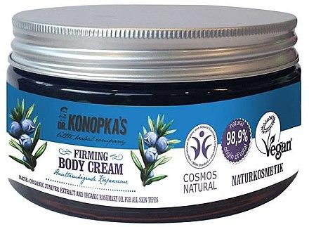 Straffende Körpercreme mit Sheabutter und Rosmarinöl - Dr. Konopka's Firming Body Cream — Bild N1