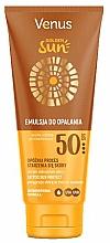 Düfte, Parfümerie und Kosmetik Sonnenschutzlotion für den Körper SPF 50 - Venus Golden Sun Lotion SPF 50