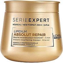 Düfte, Parfümerie und Kosmetik Regenerierende Haarmaske für geschädigtes Haar - L'Oreal Professionnel Absolut Repair Lipidium Instant Reconstructing Masque