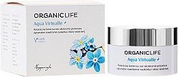 Düfte, Parfümerie und Kosmetik Bio fechtigkeitsspendende Nachtcreme - Organic Life Dermocosmetics Aqua Virtualle Moisturising Night Cream