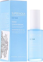 Düfte, Parfümerie und Kosmetik Intensiv feuchtigkeitsspendende Gesichtsessenz - Missha Super Aqua Ice Tear Essence