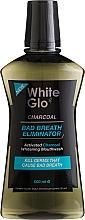 Düfte, Parfümerie und Kosmetik Mundspülung gegen schlechten Atem mit Aktivkohle - White Glo Charcoal Bad Breath Eliminator Mouthwash