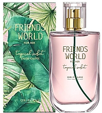 Düfte, Parfümerie und Kosmetik Oriflame Friend's World For Her Tropical Sorbet - Eau de Toilette